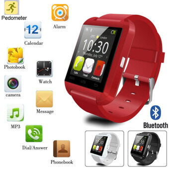 Smart Watch Android Bluetooth Watch Camera For iPhone SamsungKidsAdult - intl