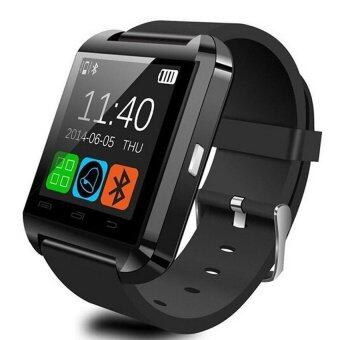 Smart Watch U8 Bluetooth/Touch Screen for Android and iPhone(Black) - intl