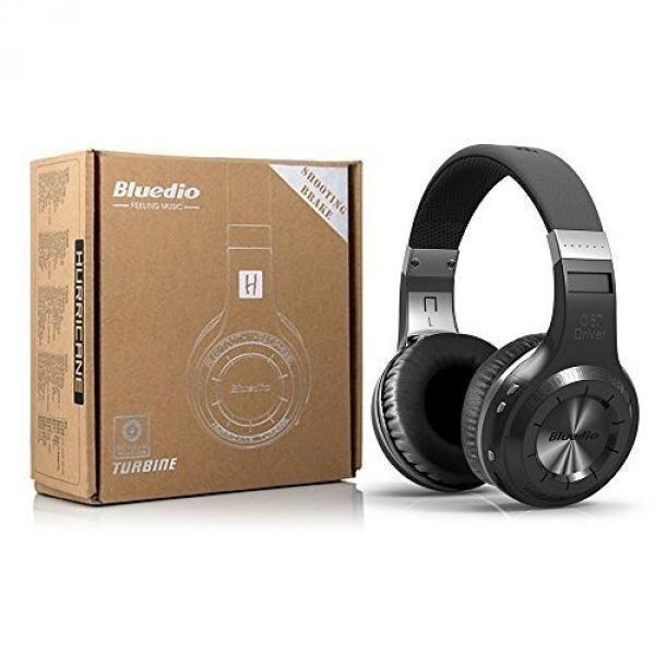 SMARTOMI V4.1 Bluetooth Headphones Over Ear, Wireless Bluetooth On-ear Stereo Earphones Noise Cancelling, Soft Memory-Protein Earmuffs, w/ Mic - intl