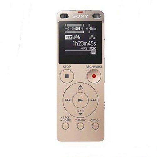 เครื่องบันทึกเสียง Sony รุ่น ICD-UX560F/NC IC Audio Recorder (สีทอง)