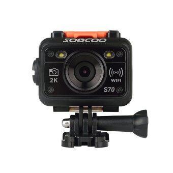 SooCoo กล้อง Action Cam ความชัด 2K รุ่น S70 (สีดำ)