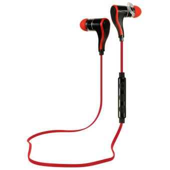 Sport Bluetooth Earphone Lightest Bluetooth Headset (Red)