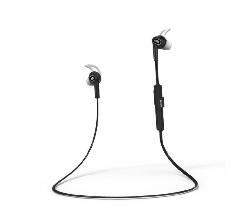 Sport Wireless Bluetooth Noise Cancelling Headset For Cell Phones and Tablet (Black)(INTL)
