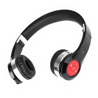 Stretchable Foldable Wireless Bluetooth V3.0 Headset Headphone with Mic for iPhone6 iPhone 6 Plus S6 S6 Edge (Black)