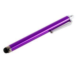 ปากกา Stylus Pen สำหรับ Smartphones และ Tablets (สีม่วง)