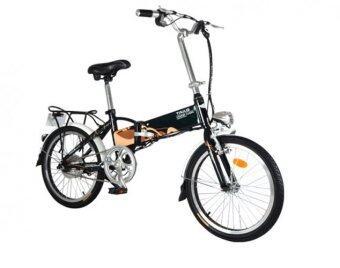 TAILG จักรยานไฟฟ้าพับได้ รุ่น Cute TG-TDN126Z ขนาดล้อ 20 นิ้ว (Black)