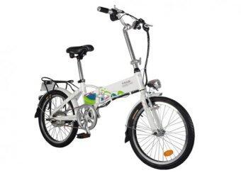 TAILG จักรยานไฟฟ้าพับได้ รุ่น Cute TG-TDN126Z ขนาดล้อ 20 นิ้ว (White)