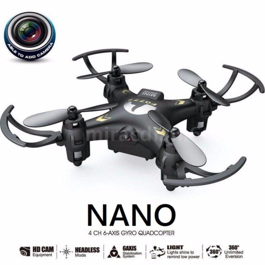 Thyo โดรน จิ๋ว nano มีไวไฟมีกล้อง(รุ่นใหม่) สีดำ