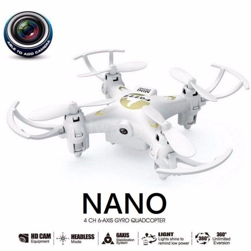 Thyo โดรน จิ๋ว nano มีไวไฟมีกล้อง(รุ่นใหม่) สีขาว