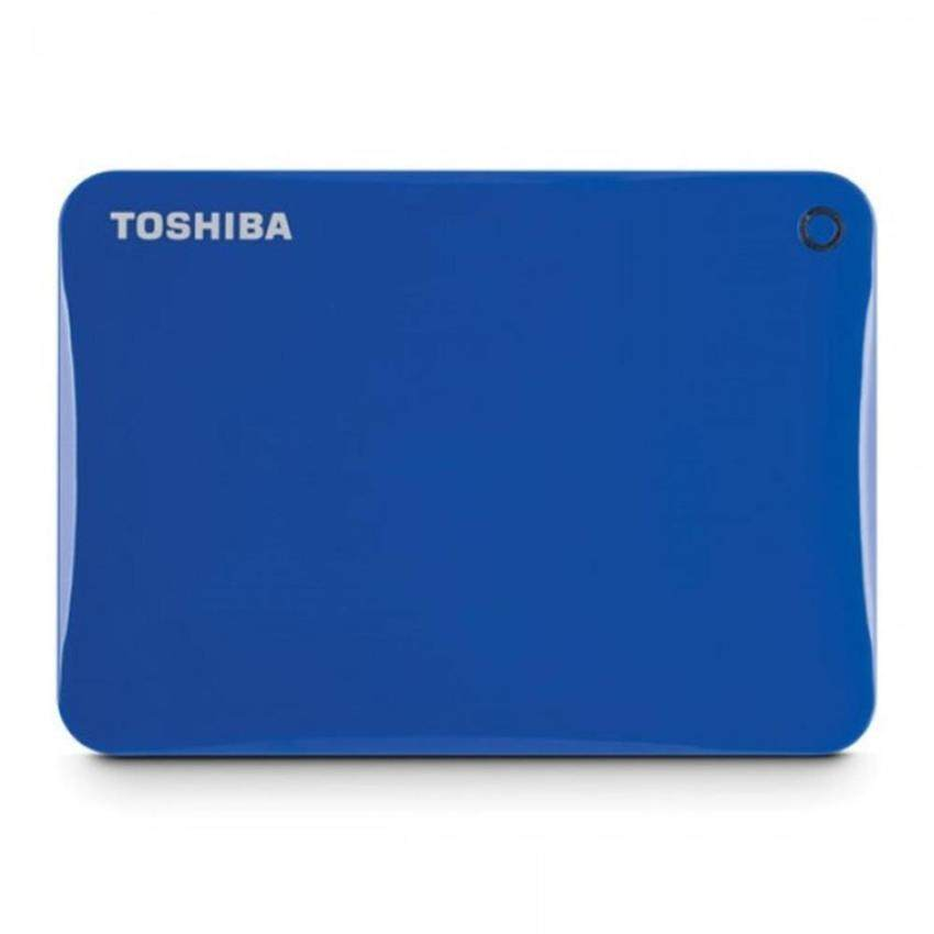 Toshiba HDD Ext 2TB Canvio Connect II 3.0 V8 - Blue (HDTC820AL3C1)