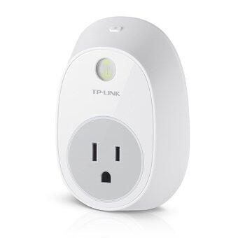 TP-LINK ปลั๊กอัจฉริยะ อุุปกรณ์ เปิด-ปิด อุปกรณ์ไฟฟ้าผ่านมือถือ WIFI Smart Plug รุ่น 'HS100'