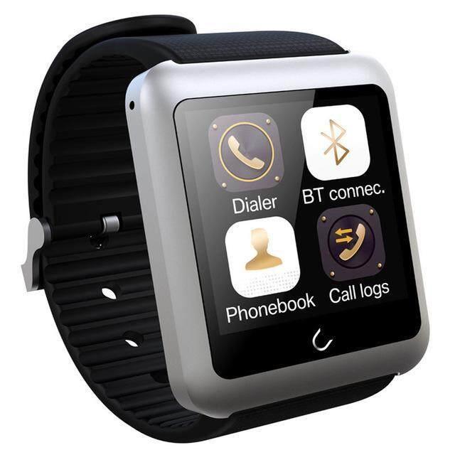 U11 Bluetooth 4.0 การตรวจสอบอัตราการเต้นของหัวใจ GPS WIFI นาฬิกาอัจฉริยะ (เงิน) - intl ...