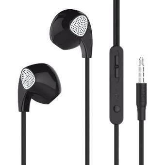 UiiSii หูฟังแบบสอดหูเบสหนักรองรับ IOS/Android/Nokia พร้อมไม์ในตัว รุ่น U1 (Black)
