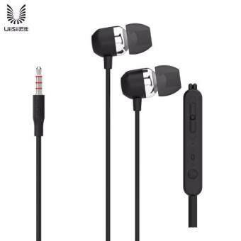 UiiSii หูฟังแบบสอดหูเบสหนักรองรับ IOS/Android/Nokia พร้อมไมค์ในตัว รุ่น U3 (Black)
