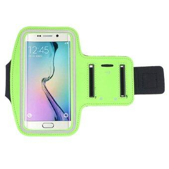 UJS Sports Gym Armband Case for Samsung Galaxy S6 Edge (Green) (Intl)