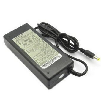 UK Plug AC Adapter 19V 4.74A 90W for Samsung Notebook, Output Tips:5.0 x 1.0mm (Black) (Intl)