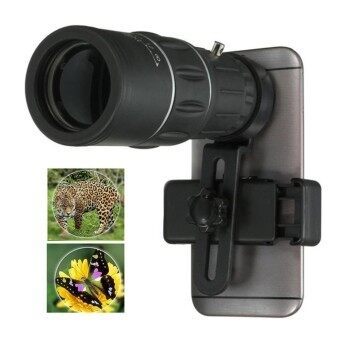 Universal 16X Monocular Telescope Phone Camera Zoom Lens for iPhoneSamsung All Mobile Phone - intl