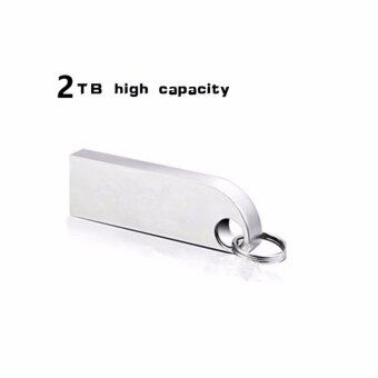 USB Flash Drive New Arrive Metal Rotary 2TB Plate USB Flash Pen Drive Stick USB 2.0 Memory U Disk - intl