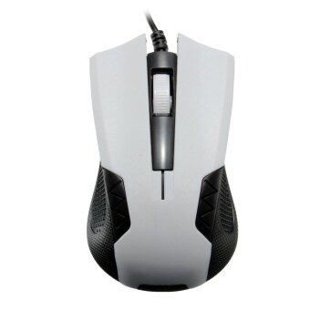 USB Wired Optical Mouse Gaming Game Mice 1000 DPI For Pro Gamer (White)