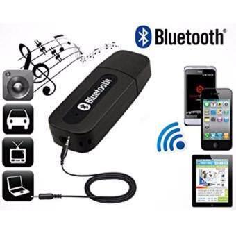 USB Wireless Bluetooth 3.5mm Audio Music Speaker Receiver Adapter