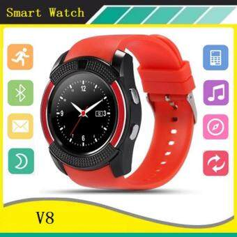 2561 V8 Smart Watch Clock With Sim TF Card Slot Bluetooth For Android And IOS - intl
