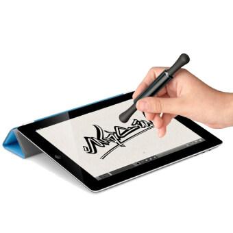 Veari ปากกา stylus สำหรับอุปกรณ์ Touch Screen ขนาดเล็ก หัวเป็นยางและมี 2 ด้าน สี Cuttlefish Black