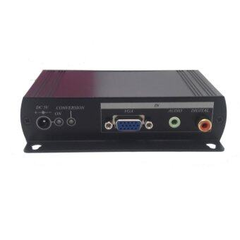 Videowall expert VH01 VGA to HDMI Converter with Local loop VGA output Video Repeater/Converter