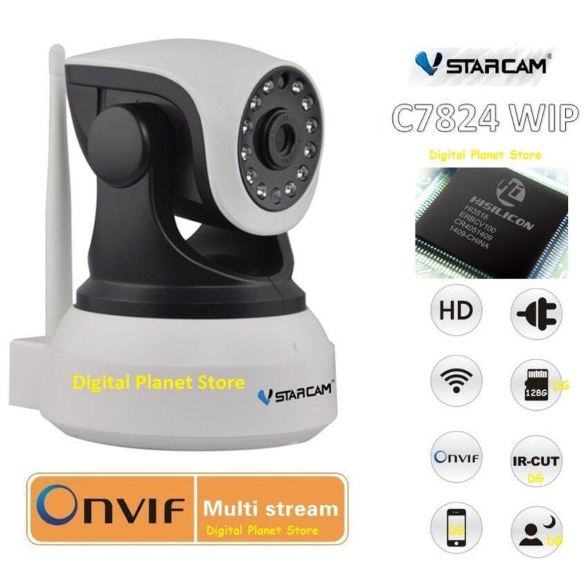 VSTARCAM กล้องวงจรปิด C7824WIP 1.0 MP HD IR CUT ONVIF WIFI