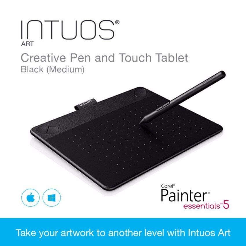 Wacom Intuos Art Creative Pen and Touch Tablet Black (Medium)
