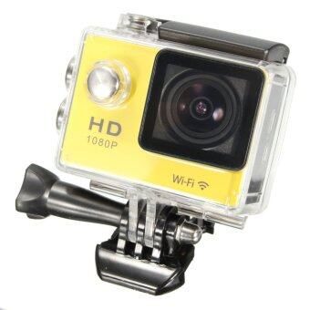 Wifi 1080P SJ5000 Sports DV Car Action Waterproof HDMI Sport Camera � Battery (Yellow)