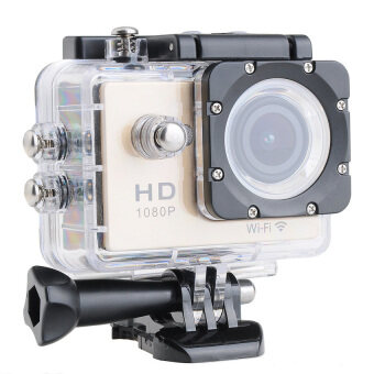 Wifi Action Digital Camera 12Mp Full Hd 1080P 30Fps 2.0Inch Lcd Diving 30M Waterproof Sport Dv - intl