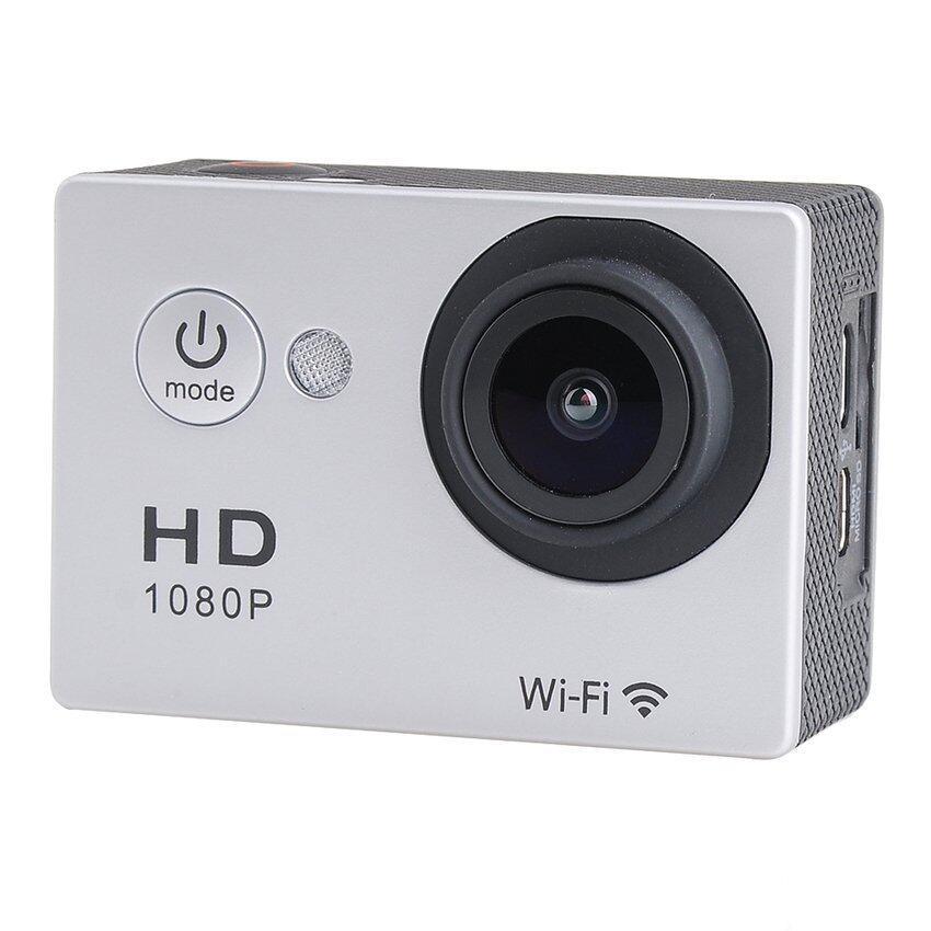 Wifi Action Digital Camera 12Mp Full Hd 1080P 30Fps 2.0InchLcdDiving 30M Waterproof Spor ...