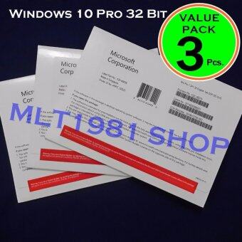 Windows 10 Pro 32 Bit Eng OEM 3 Pcs.