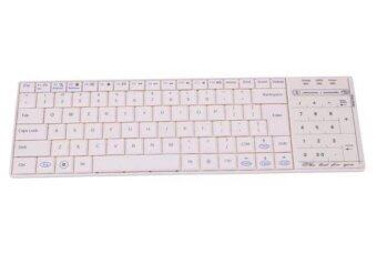 Wireless Bluetooth 3.0 Ultra Slim Mini Mechanical Keyboard Touch Pad Mouse for iOS Windows Android