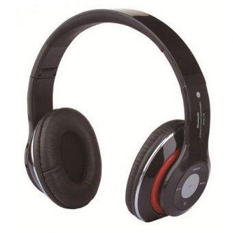 หูฟังไร้สาย บูลทูช Wireless Bluetooth Headphone With Micro SD Card Slot FM STN-16 (สีดำ)