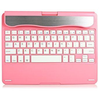 Wireless Keyboard Stand Energy Saving Sleep Mode for iPad Air (Pink)