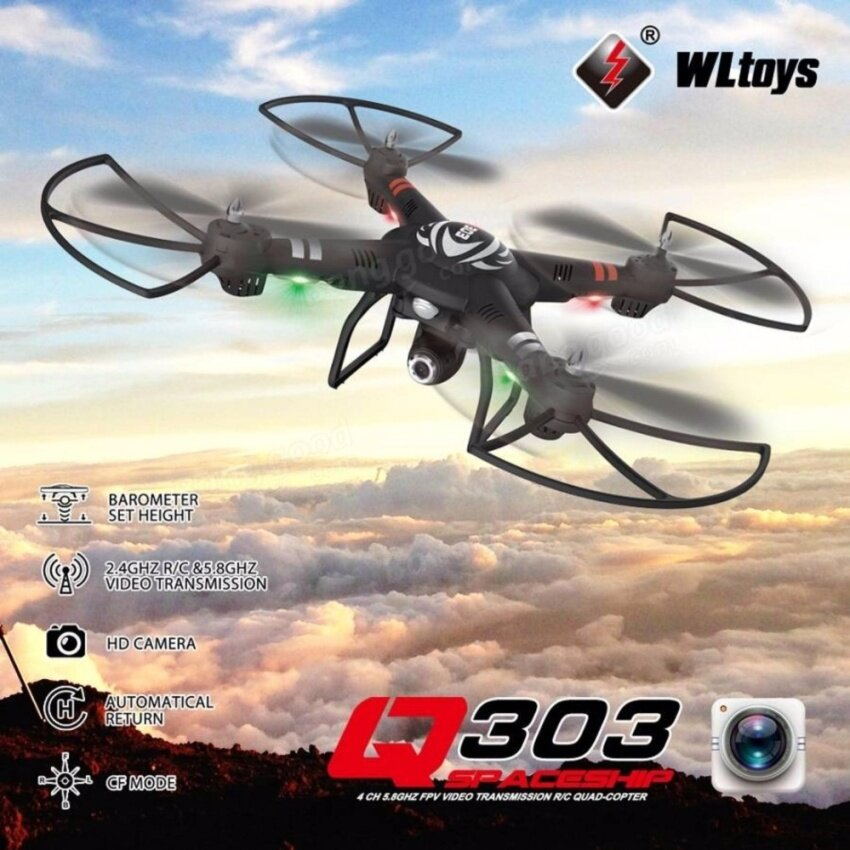 WLtoys Q303B with 2MP HD Camera WIFI One Axis Gimbal 2.4G 6Axis