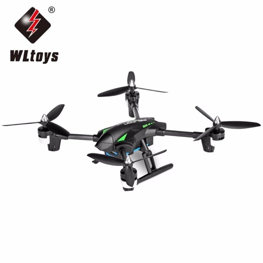 โดรนบังคับ โดรนติดกล้อง WLtoys โดรน บินถ่ายภาพ ดูภาพสดผ่านสมาร์โฟน WLtoys Q323 B RC Quadcopter - RTF with 2MP Camera 2.4GHz 6-axis Gyro Air Press Altitude Hold Headless Mode FPV.