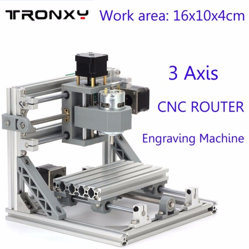Work area 16x10x4cm DIY 3 Axis Engraver Machine PCB Milling Wood Carving Engraving Router Kit CNC NEW - intl