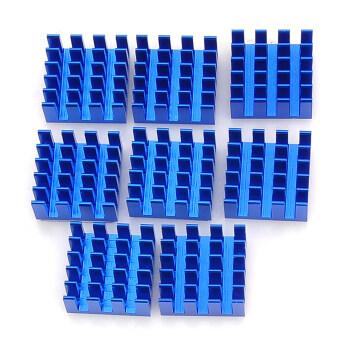 เลย X3 RAM ฮีทซิงค์-สีน้ำเงิน (8ชิ้น)