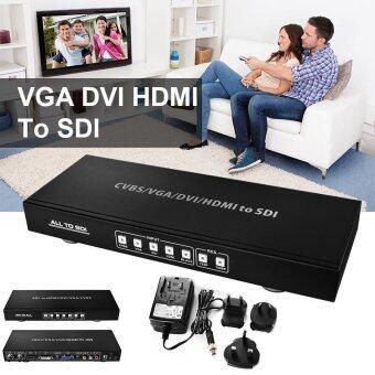 XCSOURCE CVBS VGA DVI HDMI Composite R/L All to HD 3G SDI Scaler Converter HD Video AH267 - intl