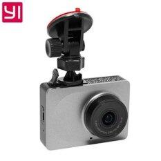 Xiaomi Yi Dash Cam กล้องติดรถยนต์ Car Dvr Wifi 1080p 2.7inch - สีเทา ราคา 2,190 บาท(-35%)