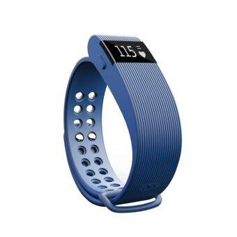 YOCHO New Smart Heart Rate Sensor Bluetooth 4.0 Watch Wristband Fitness Tracker For samsung Android Apple Iphone(Blue) - Intl