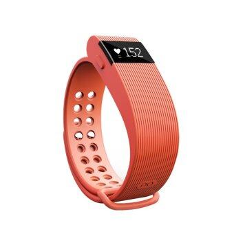 YOCHO New Smart Heart Rate Sensor Bluetooth 4.0 Watch Wristband Fitness Tracker For samsung Android Apple Iphone(Orange) - Intl