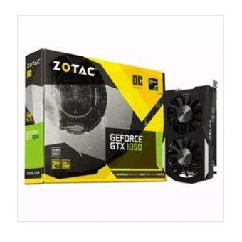 ZOTAC GeForce GTX 1050 OC Daul silencer 2GB GDDR5 Graphic cards / 1455 MHz / 128-bit / Dual-Link - intl