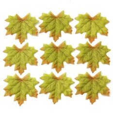 200 Pcs Artificial Fall Silk Leaves Wedding Favor Autumn Maple Leaf Decorations - Intl ราคา 102 บาท(-52%)