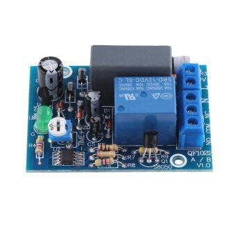 220VAC Adjustable Timer Delay Turn Off Switch Time Relay ModuleLoad (0~10Sec.) - intl