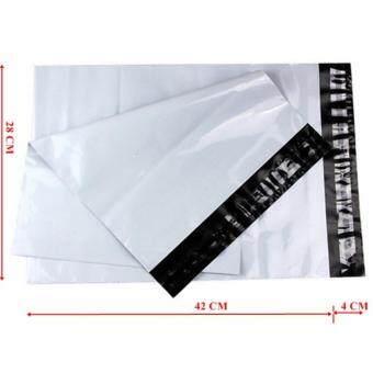 ซองไปรษณีย์พลาสติกสีขาว ขนาด 28x42 cm (250 ใบ)