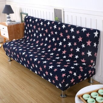 3 Seats Sofa Cover Slipcover Armless Settee Couch Protector ElasticSofa Bed Cover #6 - intl