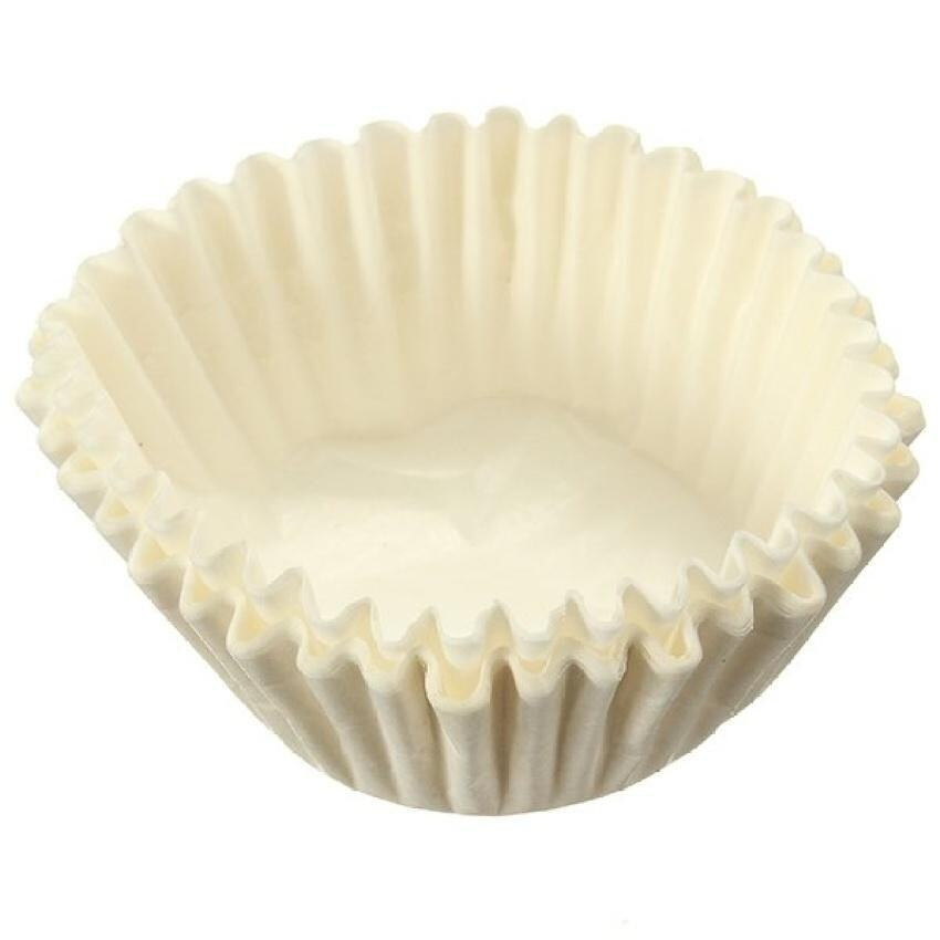 30Pcs Liner Cupcake Muffin Candy Nut Snack Greaseproof Paperdessert Baking Cups White - intl